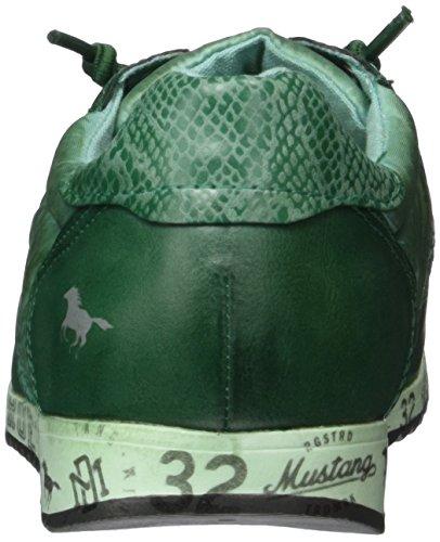 Mustang Unisex-Kinder 5039-401 Low-Top Grün (700 dunkelgrün)