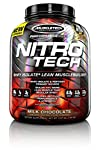 Nitrotech is a scientifically engineered whey isolate lean muscle builder formula designed for all athletes who are looking for more muscle, more strength and better performance.