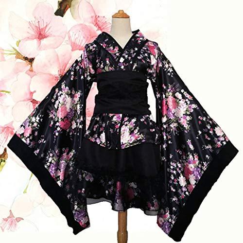 Mujeres Cosplay Lolita Disfraces Kimono japonés Disfraces