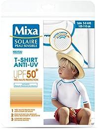 MIXA solar piel sensible camiseta anti UV infantil talla 5–6años