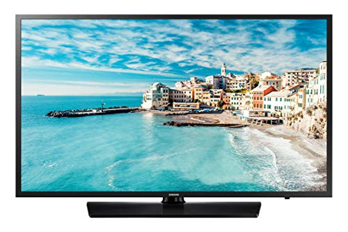 Samsung HG32EJ470 Hospitality Smart TV, Display da 32'', Risoluzione 1366 x 768 Pixel, 2 HDMI, 1 USB, Software Lynk Reach 4.0, Nero