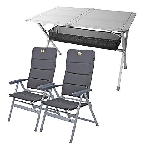 Camping Möbel Set Tisch + 2 Stühle