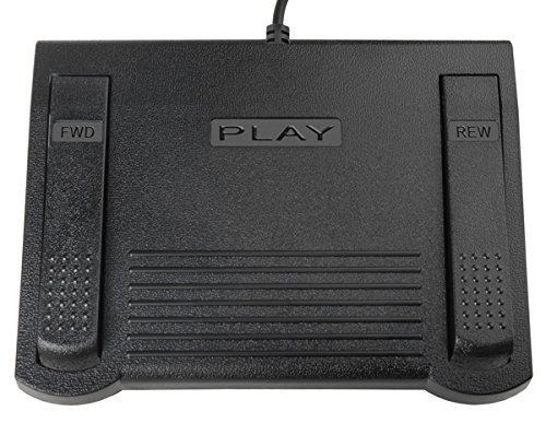 ecs-in-585-infinity-heavy-duty-foot-pedal-for-dictaphone-desktop-transcriber