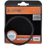 Zomei - Filtro diffusore con effetto flou per fotocamera/videocamera da 72mm