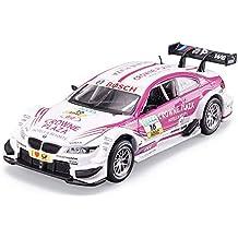 Kikioo Modelo de auto 1:32 BMW M3-DTM Rally Racing Simulación Fundición de