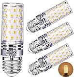 Lampadina LED E27 12W 3000K Aogled,Equivalente 100W Lampada Alogena,Bianco Caldo,1200LM,Angolo 360,Lampadina Edison,Non Dimmerabile,Nessun Sfarfallio,AC85-265V E27 Illuminazione led,4 Pezzi