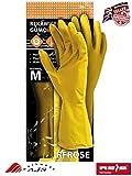 12Paar Haushalt waschen bis Handschuhe Latex Gummi Küche Reinigung natur Latex