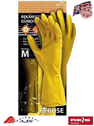 12paires de gants en caoutchouc Latex naturel