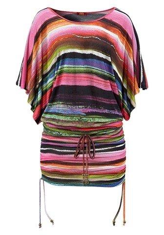 Buffalo Damen Oversize Shirt bunt 36/38 (Buffalo T-shirt Damen)