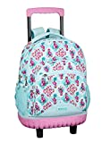 Moos Flamingo Turquoise Oficial Mochila Escolar Grande Con Ruedas 320x140x460mm