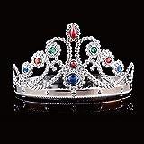 lzndeal l 1pcs COS Roi et Reine coiffure Crown anniversaire et cosplay réglable Crown Festival maquillage Dance Party Supplies