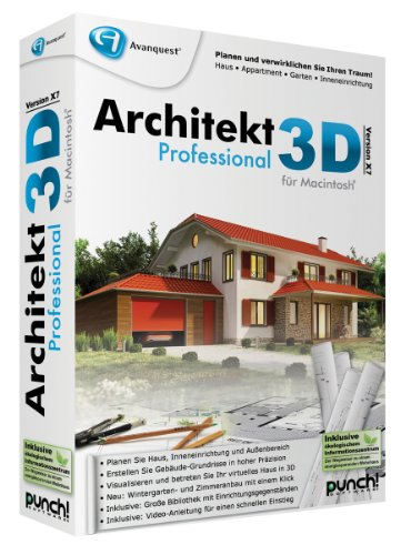 Architekt 3D X7 Professional für Mac
