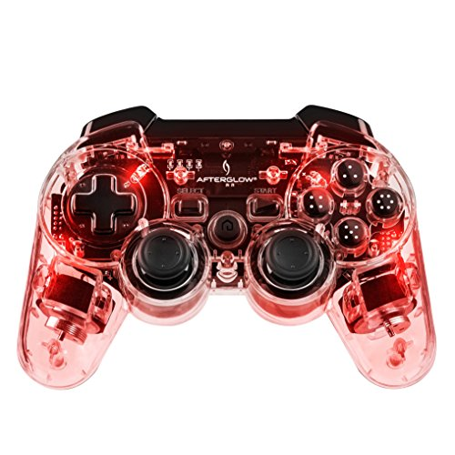 Afterglow Wireless Controller - rot - 360 Blau Controller Xbox Led