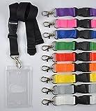 50 pcs cordoncini non stampati con piedino con chiavi nastri nastro...