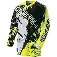 O'Neal Element Kinder MX Jersey Shocker Neongelb Motocross Enduro Offroad, 0025S-60