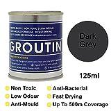 Gris oscuro groutin lechada Reviver, restaurar y Revive Old lechada. antihongos y antibacteriano 125ml