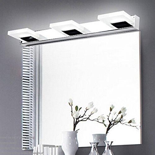 Create-for-Life-LED-9W-Espejo-Luzfro-blanco-luz-del-bao-acero-inoxidable-acrlico-en-la-pared-3825-SMDde-ahorro-de-energa