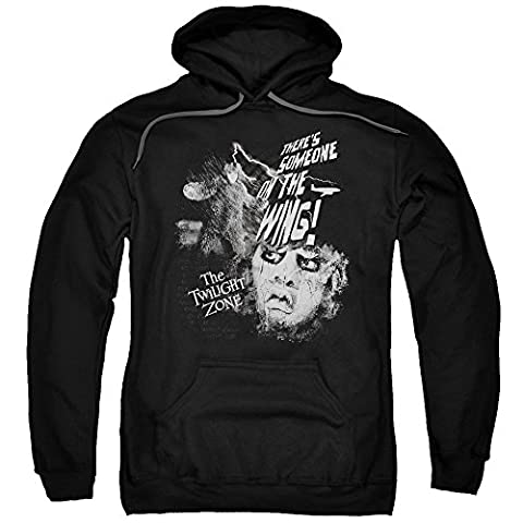 Twilight Zone TV Series CBS Someone On The Wing Adult Pull-Over Hoodie