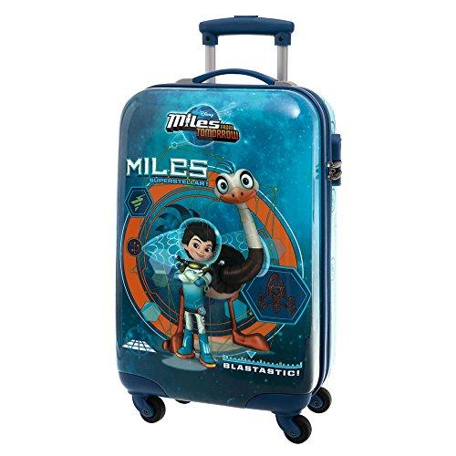 Miles-del-Futuro-Maleta-de-Cabina-Rgida-Color-Azul-33-Litros