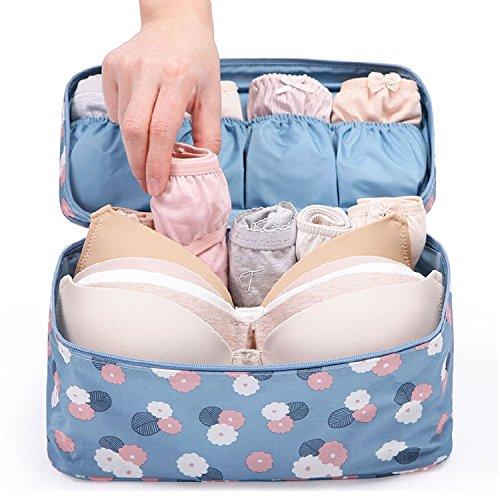 Travel Organizer Biancheria Bras sacchetto di immagazzinaggio del supporto della