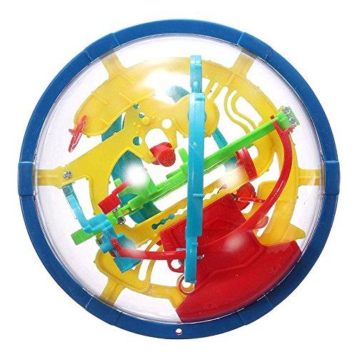 Hrph Nuevas Herramientas para la formación mágico educativo intelecto laberinto bola de niños hijos de Lógica 3D Equilibrio Habilidad Puzzle
