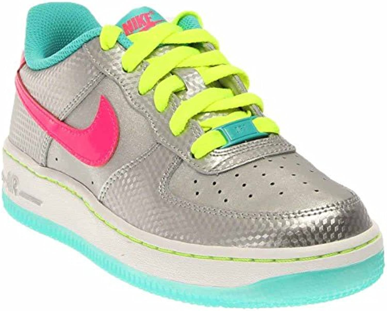 nike air l'école air nike force 1 argent métallique / hyper - rose 314219-011 chaussure hyper jade 702217