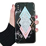 CXvwons Coque iPhone XS Coque, iPhone XS Max/iPhone XR Coque Chic Ultra Fine Housse...