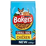 Bakers Complete Dog Food Small Dog Tender Meaty Chunks Tasty Chicken and Country Vegetables, 2.7 kg - Pack of 4 23