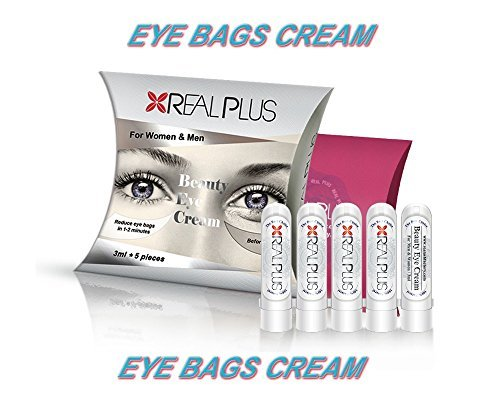 Anti wrinkle eye bag cream!!! Instant effect!!! Reduce and removes eye bags in 1-2 minutes!!!For man and women. 5 bottles x 3ml.
