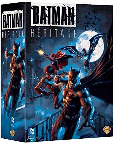 Batman Héritage : Le Fils de Batman + Batman Vs Robin + Mauvais Sang + Red Hood : sous le Masque Rouge - Coffret DVD