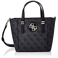 Guess Womens Tote Bag, Coal - SG718677
