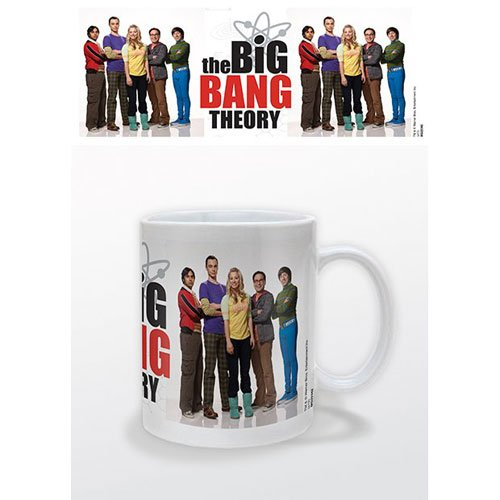 Big Bang Theory - Tasse Group Portrait