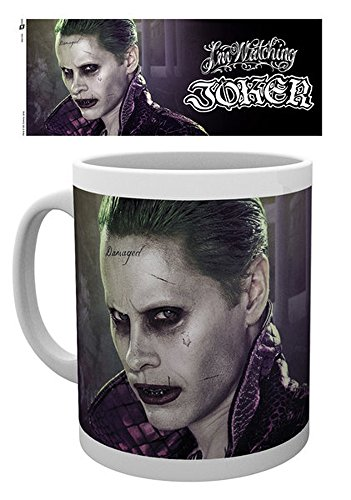 empireposter 741127Suicide Squad–Joker–Taza, diámetro 8,5cm, cerámica, multicolor, 12x 8x 9,5cm