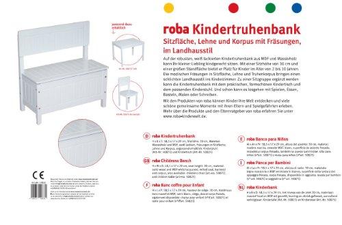 roba 50865 - Kindertruhenbank -