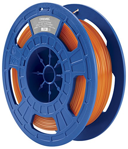 Dremel 26153D04JB Filament pour Imprimante 3D en PLA, Diamètre 1,75 mm, Orange