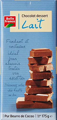 Belle France Chocolat Dessert Lait 175 g - Lot de 11