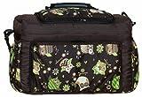 TK-40 Wickeltasche KIM von Baby-Joy XXXL Übergröße Braun Eule 6 Windeltasche Pflegetasche Babytasche Tragetasche