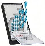 Bosch 2607010543 - Pack de 7 brocas multiusos, diámetro