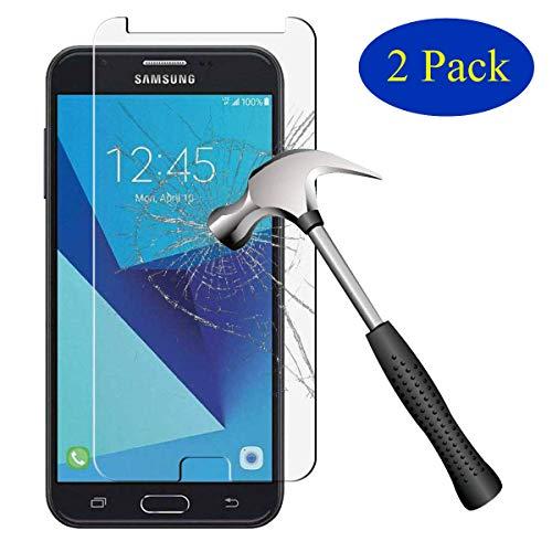 sinwere [2er Pack] für Samsung Galaxy J7V/j7V (Verizon)/J72017/Galaxy J7perx/Galaxy J7Sky Pro/Galaxy J7Prime [gehärtetem Glas] Displayschutzfolie Verizon Pack