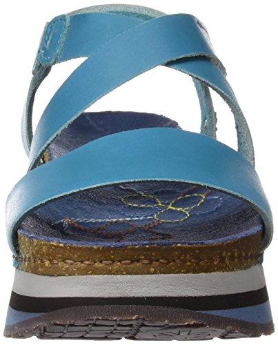 ART 0587 Mojave Mykonos, Sandales à Plateforme Femme Bleu (Multi Albufera)