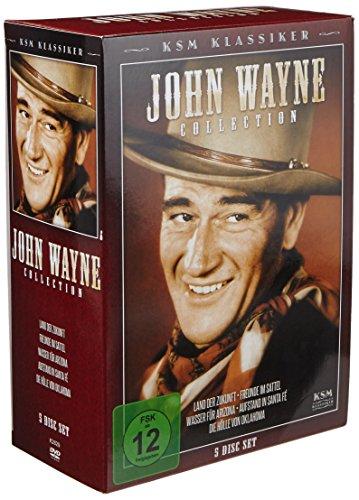 John Wayne Collection (KSM Klassiker) [5 DVDs] [Collector's Edition] - Collection John Wayne Western