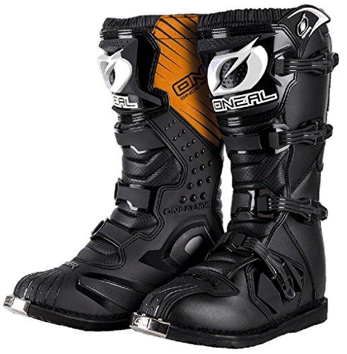 Mx Boot Oneal Rider Black (Eu 44 / Us 10.5 , Nero)
