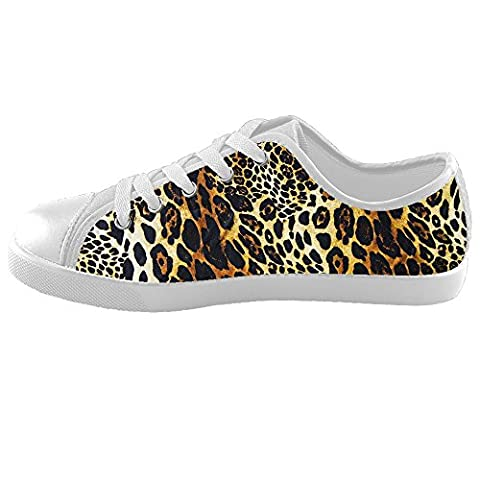 Custom Leopard print Kids Canvas Shoes Footwear Sneakers Shoes