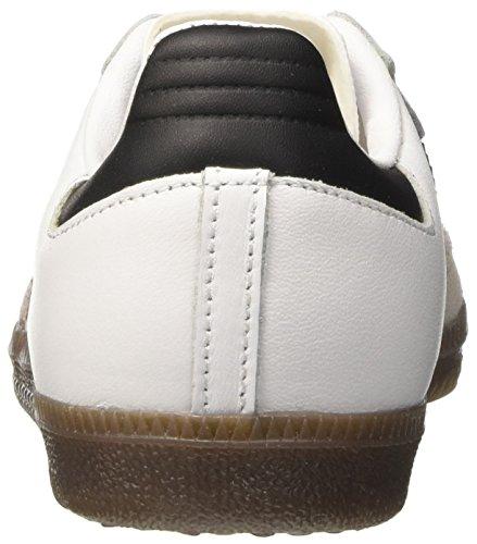 Unisex Low Black White Adidas core Elfenbein erwachsene Og Samba Hals Sneaker gum ftwr XddSqx