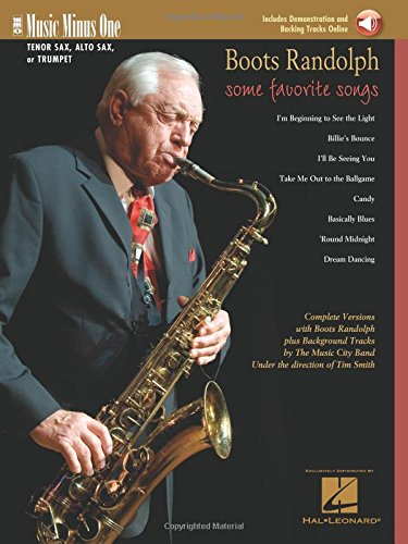 Boots Randolph - Some Favorite Songs: Music Minus One for Tenor Sax, Alto Sax or Trumpet