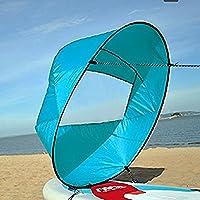 42 Zoll Kajak Windsegel Wind Paddel Downwind Kajaksegel Kanu Zubehör Kompakt&Tragbar
