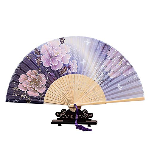 Joyfeel buy Faltfächer Japanischer Faltfächer aus Holz Handfächer Camouflage Faltfächer,Geburtstag, Party, Hochzeit, DIY Tag Dekoration
