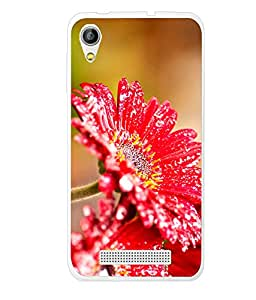 LAVA P7 SILICON BACK COVER BY instyler