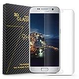 COSKIP Samsung Galaxy S7 edge Pellicola Protettiva ,3D Copertura Completa ,Screen Protector in Vetro Temperato per Samsung Galaxy S7 edge,Trasparente immagine