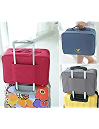 CONNECTWIDE® Multifunctional Travel Packing Cubes Duffle Bag, Men & Women Travel Bag New Travel Pouch Waterproof...